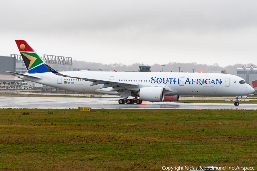 South African Airways Airbus A350-941 (ZS-SDF) | Photo 361948
