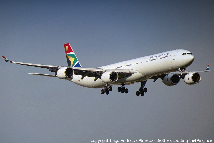 South African Airways Airbus A340-642 (ZS-SNA) | Photo 372000