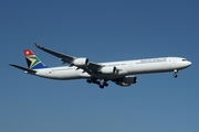 South African Airways Airbus A340-642 (ZS-SNF) at  Johannesburg - O.R.Tambo International, South Africa