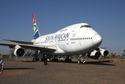 South African Airways Boeing 747SP-44 (ZS-SPC) at  Rand, South Africa