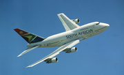 South African Airways Boeing 747SP-44 (ZS-SPE) at  Rand, South Africa