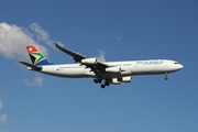 South African Airways Airbus A340-313E (ZS-SXE) at  Johannesburg - O.R.Tambo International, South Africa